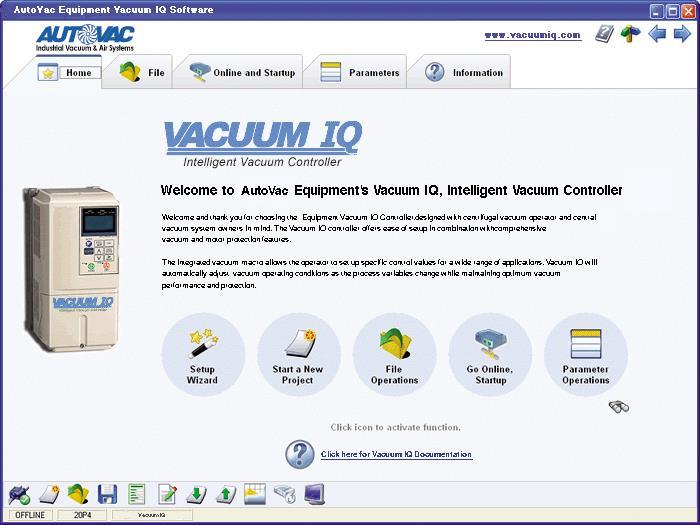 vacuumiqwebpage